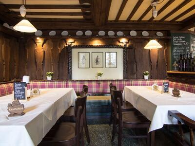 Gastraum im Gasthaus Nestroy